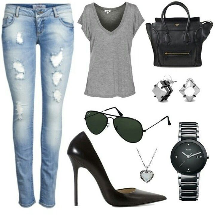 Casual lunch outfit
