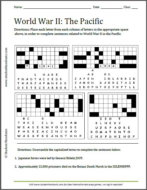 Timeline ww2 worksheet pdf world war 2 worksheets photos 17 best images about world war 2 on pinterest vocabulary gumiabroncs Gallery