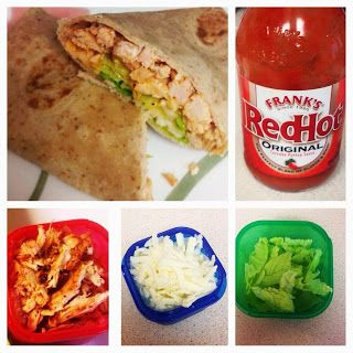 Buffalo Chicken Wrap (21 DAY FIX) approved! Brooke's blog: February 2014