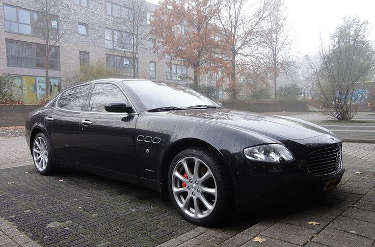 """Maserati Quattroporte (reminds me of the incredible movie """"les intouchables"""""""