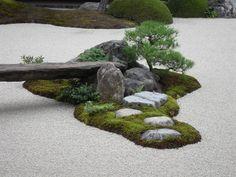 Garden outside of Adachi Museum of Art in Japan