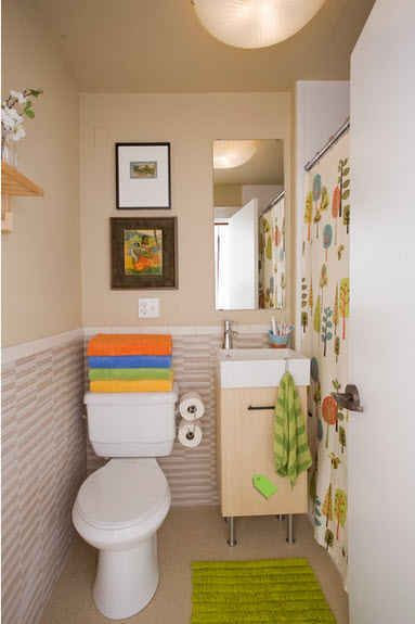 decoracion de baños muy pequeños (2)   Cuartos de baño   Bathroom ...