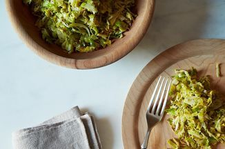 Union Square Café's Hashed Brussels Sprouts with Poppy Seeds and Lemon Recipe on Food52 recipe on Food52