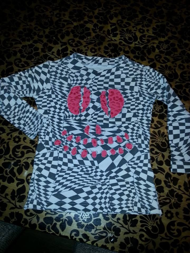 Doodshoofd shirt, skull shirt