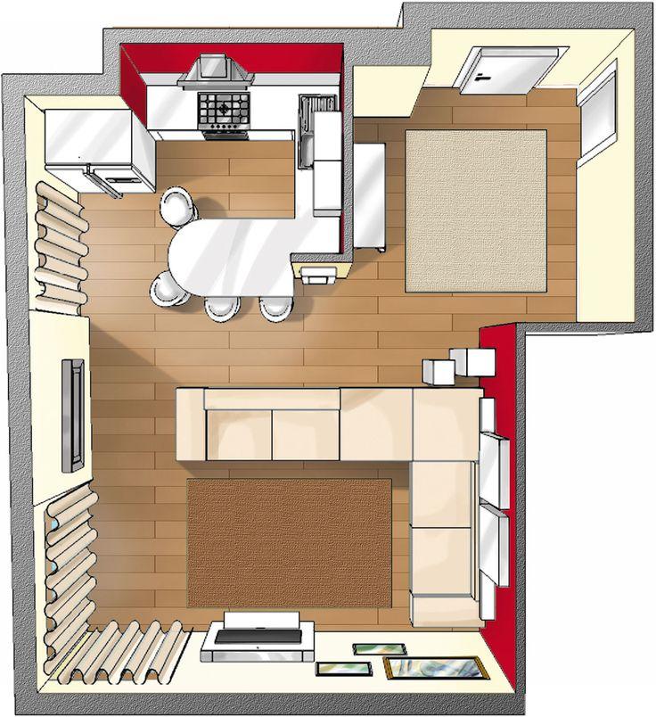 Il corridoio d'ingresso è un ambiente di passaggio, che ha però un ruolo fondamentale perché condiziona l'impressione che si ha dell'intera casa e deve anche essere uno spazio funzionale.