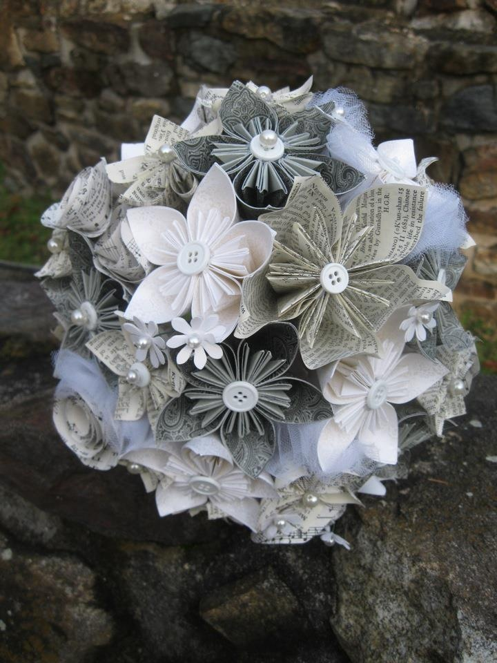 17 Best Ideas About Paper Wedding Bouquets On Pinterest Paper Flowers Diy
