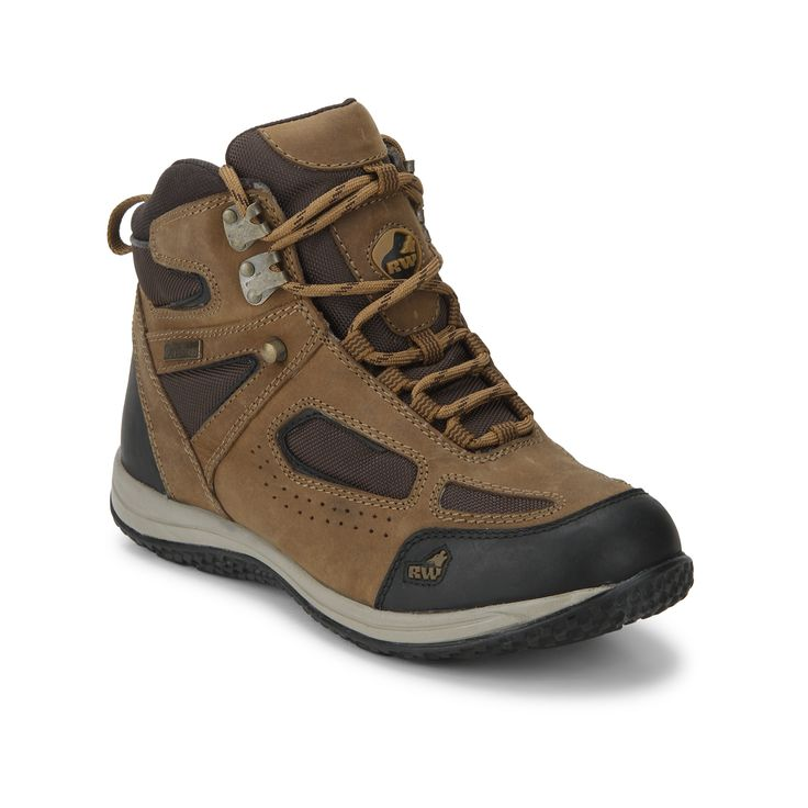 Performance engineered for fast pursuits offering maximum style and comfort  in these Rust men's hiking shoes from the RockWolf collection by Red Chief.