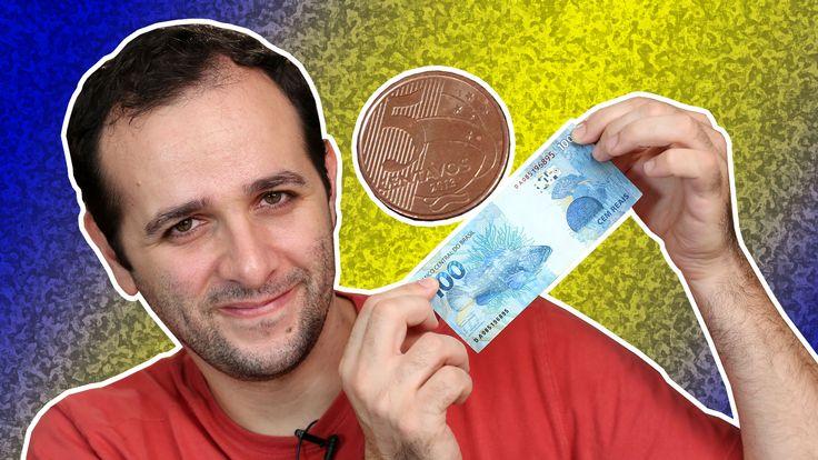 Você acha possível equilibrar uma moeda de 5 centavos em cima de uma nota de R$ 100? Veja o desafio abaixo e