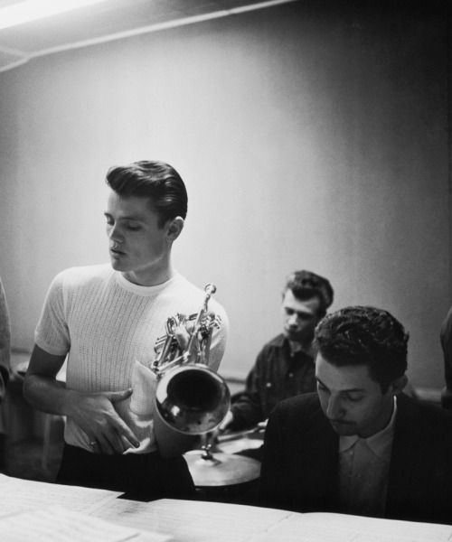 Chet Baker, 1952, photo by William Claxton