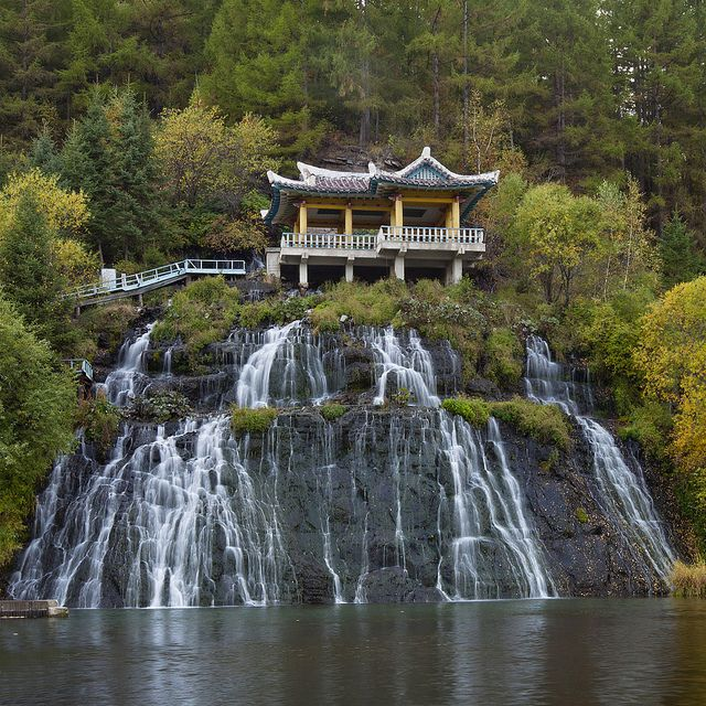 Rimyongsu Waterfall ~ North Korea Log your travel mileage without waiting till you get back to the office with our TRAVEL mileage tracking app! https://www.gemican.com