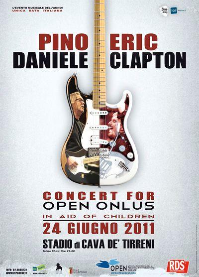 Pino Daniele Eric Clapton