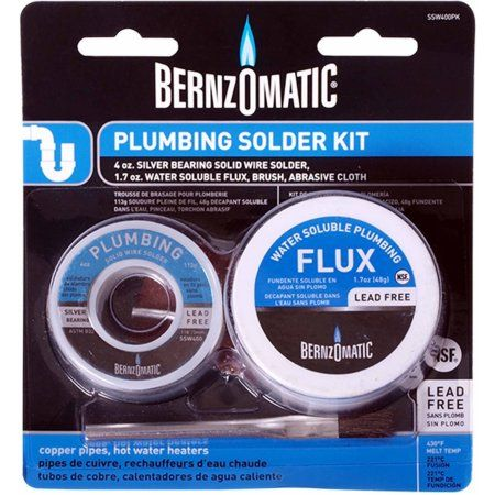 Bernzomatic Plumbing Solder Kit