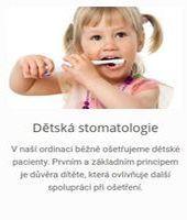 Dětská stomatologie v Plzni