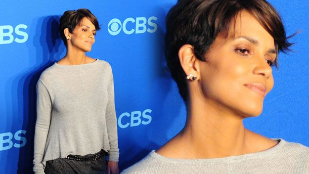 New mum Halle Berry looking gorgeous at 47.
