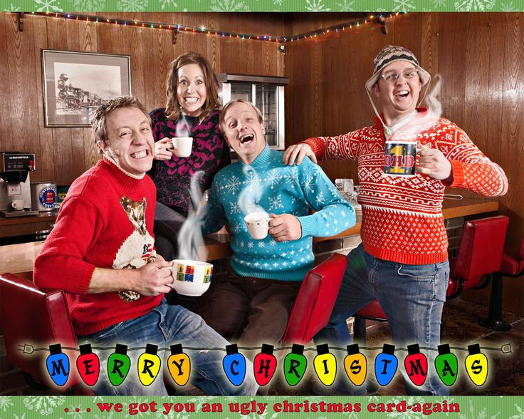 funny family christmas card ideas with teens | christmas2009