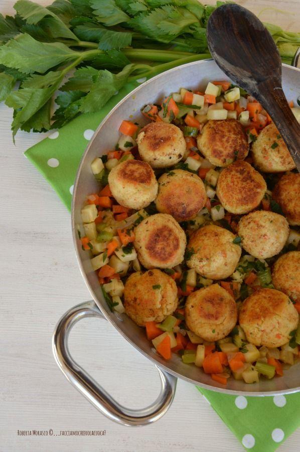 Polpettine di tacchino con dadolata di verdure | http://www.facciamocheerolacuoca.ifood.it/2015/02/polpettine-di-tacchino-con-dadolata-di-verdure.html