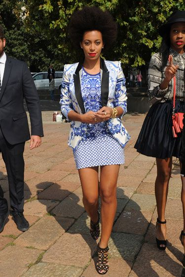 MFW Edition: Solange Knowles in Just Cavalli
