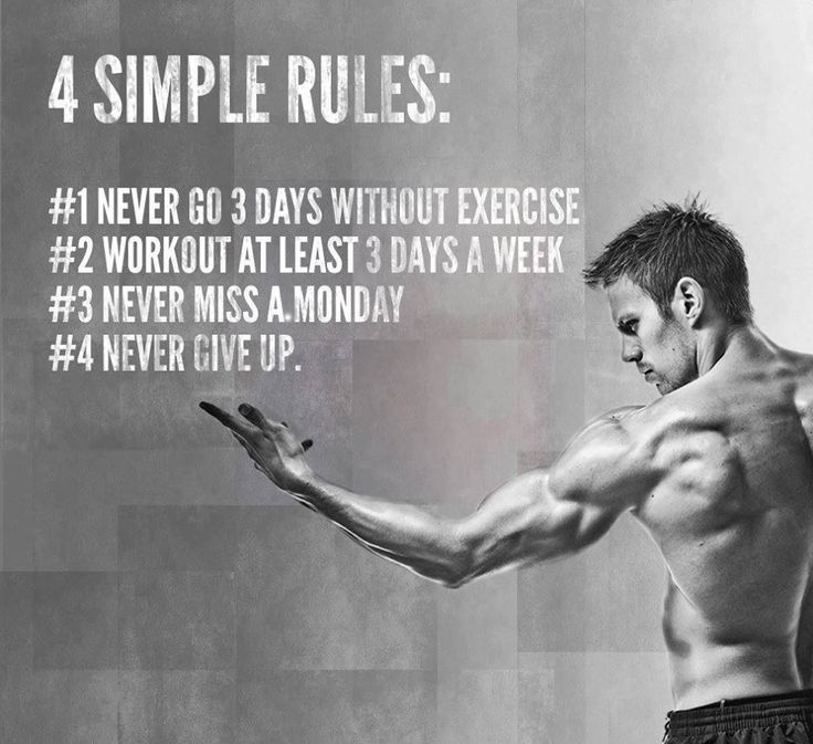 4 simple fitness rules  #Fitness