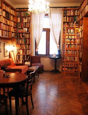 Massolit Books - Krakow / Budapest second hand books & coffee with home made cake