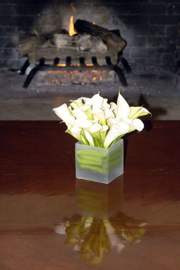 Images about square rectangle vase centerpiece ideas