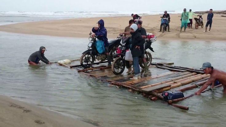 Rakit Penyeberangan Way Penipahan | Way Haru | TNBBS