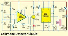 Cell Phone Detector circuit diagram - Electronic Circuit