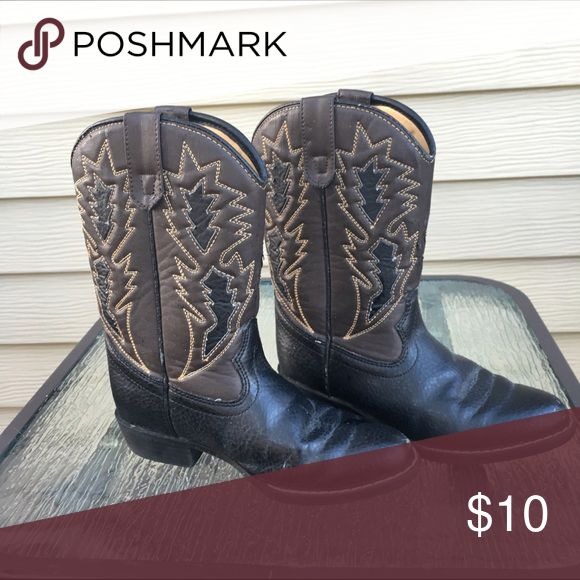 Kids cowboy boots A few scuffs but still in great condition Shoes Boots