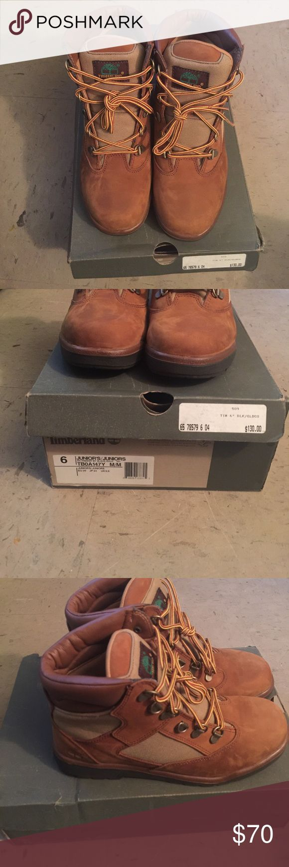 """Timberlands 6"""" Never Worn Timberland Shoes Boots"""
