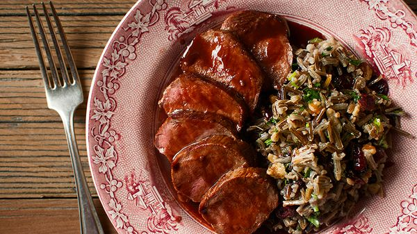 venison cumberland sauce, worth the effort to spend the time, effort, and money to be a deer hunter. this is a dish one can be proud to serve. create a tasty wild rice side and you have an excellent dinner