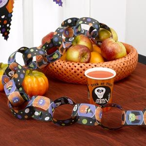 Kids Halloween Party Paper Chains