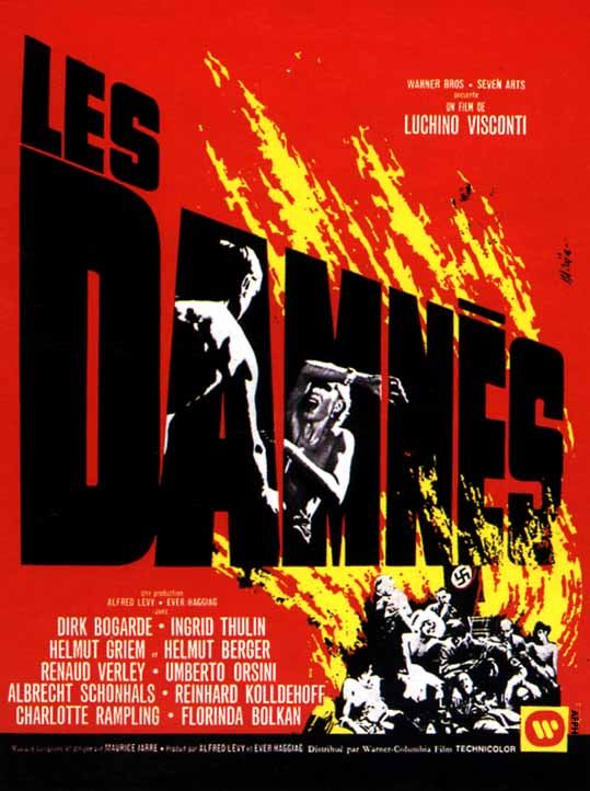 "98. ""Les Damnés"" de Luchino Visconti avec Dick Bogarde, Ingrid Thulin, Helmut Berger."