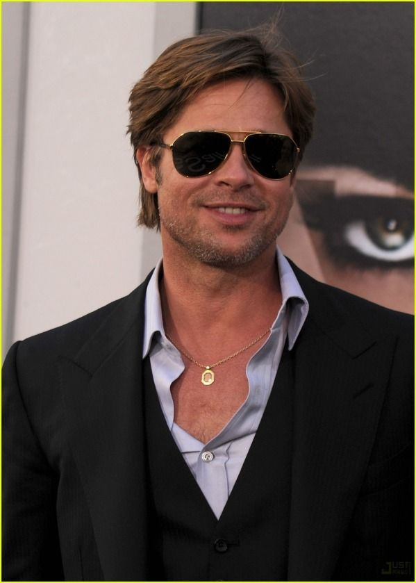 Brad Pitt's Best Looks. #7 Business Casual. michelle91 posted on Likes.com