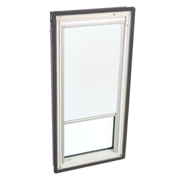 VELUX White Manually Operated Blackout Skylight Blind for FS C06 Models-DKD C06 1025 at The Home Depot