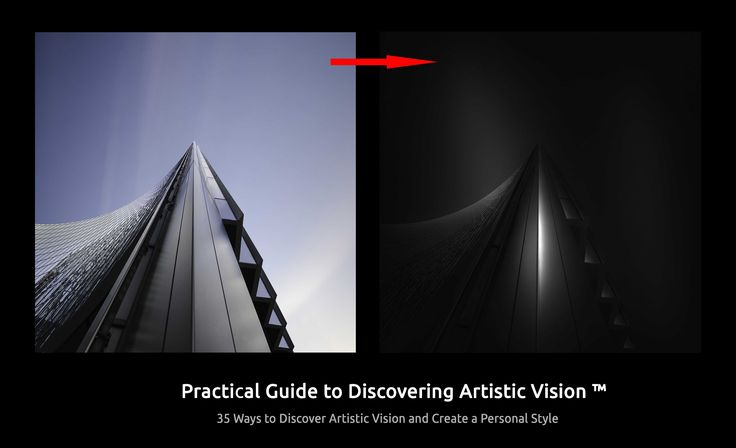THE GUIDE TO VISION™ – PRACTICAL GUIDE TO DISCOVERING ARTISTIC VISION AND CREATING PERSONAL STYLE,  based on  my long experience as a photographer, architect and visual artist, and on studying the best examples in art and photography.