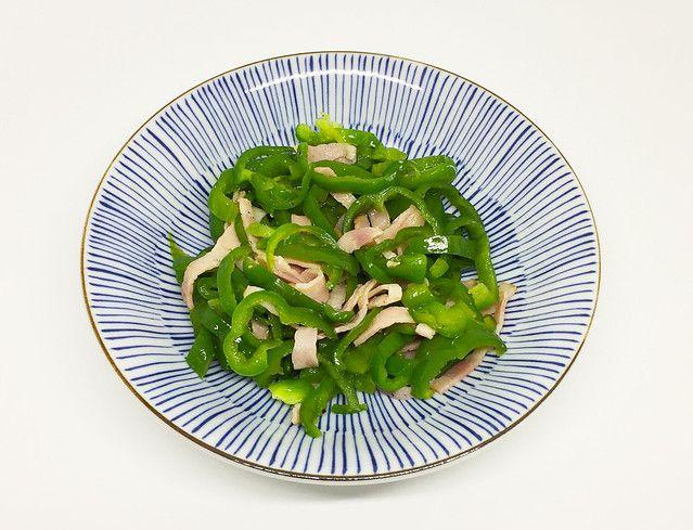 洋風版「無限ピーマン」のレシピを紹介 コンソメ風味で食べやすく - ライブドアニュース