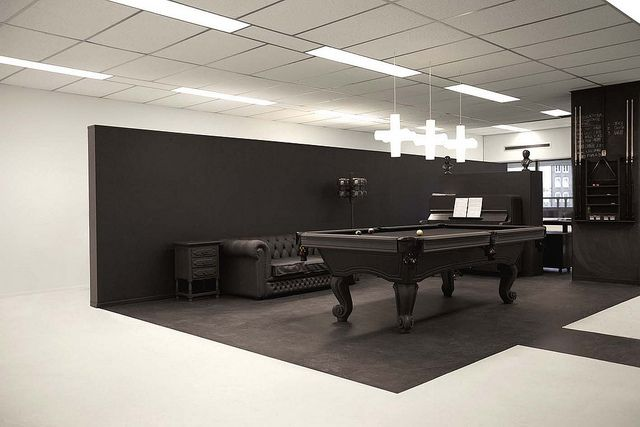 Office interior meets lounge