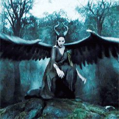 """My wings were so big they dragged behind me on the ground as I walked..."" Maléficent"" movie quote."