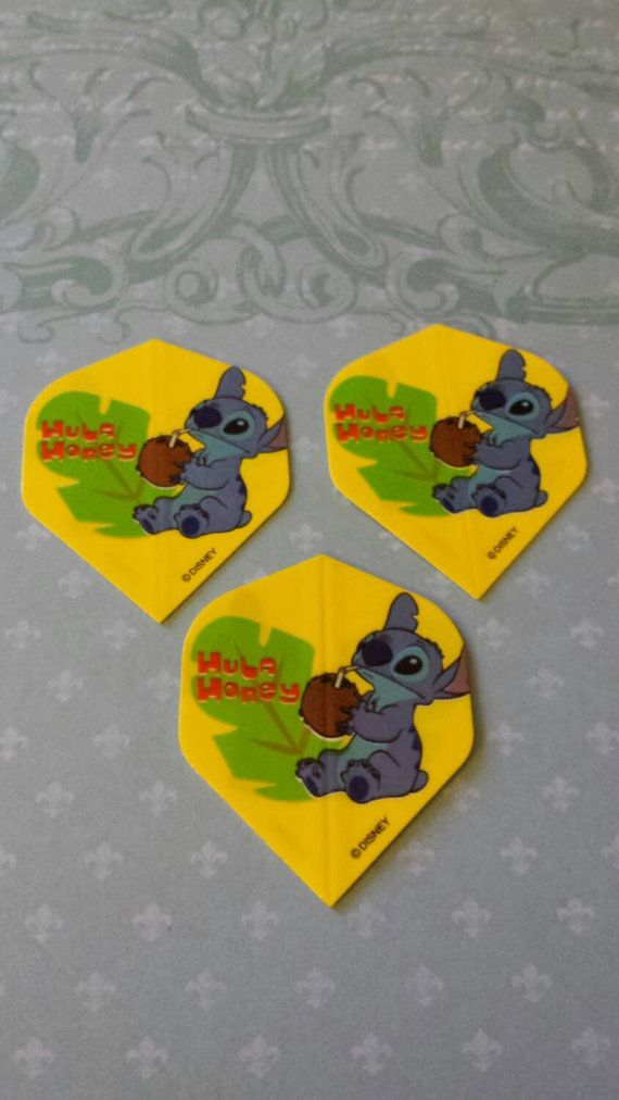 Check out this item in my Etsy shop https://www.etsy.com/listing/209912992/3-dart-flights-disney-stitch