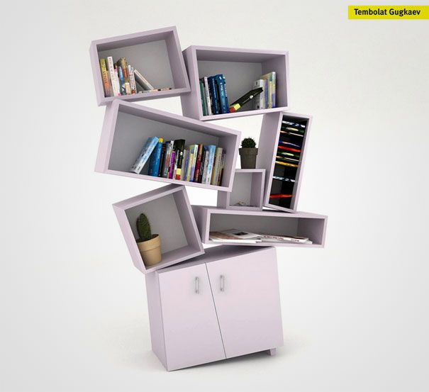 Wonderful 33 Creative Bookshelf Designs Awesome Ideas