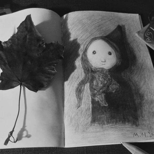 For my love, Fearchara.  #photography #blackwhite #algiz #drawing #artwork #sketch #sketchbook #pencil #art #dark #melancholia #fotografia #rysunek #ilustracja #decadence