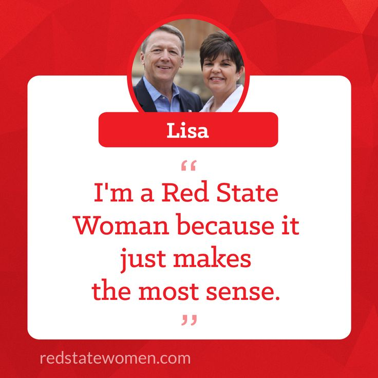 Lisa is the proud wife of Rep. Ron Simmons & a tough Red State Woman. Read her story @ https://www.facebook.com/redstatewomen