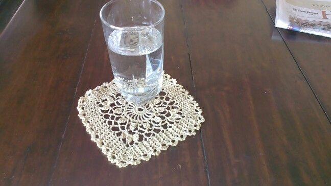 Coaster, pattern on Crochet World August issue 2013