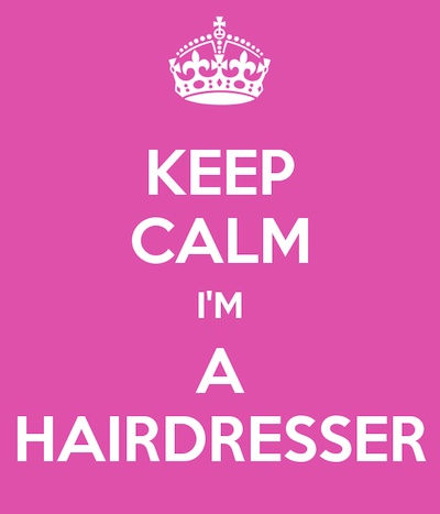 A little bit of hairdresser humor for us all :-)