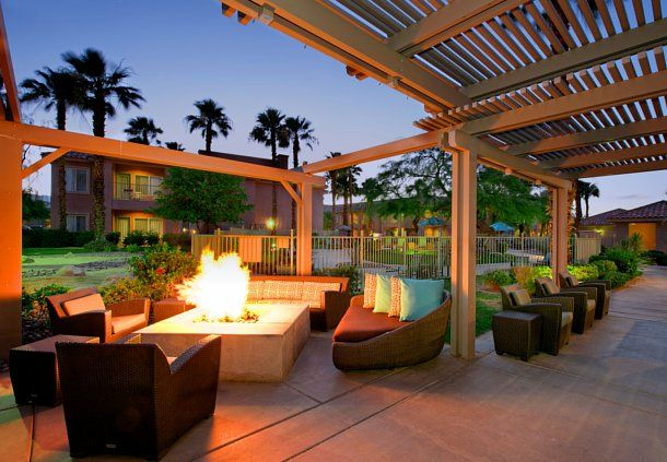 Create memorable moments while away from home with friends or colleagues near our outside fire pit.