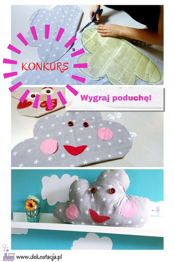Na urodziny ogłaszamy konkurs! Do wygrania 4 nasze rękodzieła! #konkurs #DIY #poduszka