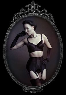 suspender belt 50´s style made by Riwaa Nerona