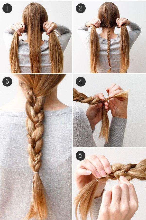Прически на длинные волосы своими руками: фото и видео уроки