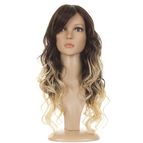 Ombre Long Curly Lace Front Wig | Bouncy Bodywave Curls | Dark Brown/Light Blonde Dip Dyed Effect by Lace Front Wigs By MissTresses. $89.99. Long Curly Lace Front Wig | Inspired by Taylor Swift | Glamorous Bodywave Curls | Ombre Effect - Dark Brown graduating to Light Blonde | High Fashion Dip Dyed Effect. Heat styleable, realistic, hair-like synthetic fibre. Natural in touch and appearance. Express DHL 3-5 day delivery option available. Standard delivery takes approx 10-14 da...
