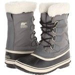 SOREL Winter Carnival (Pewter/Black/Metal Crush/Nappa Wax) Women's Cold Weather Boots