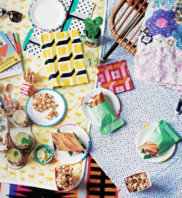 Crafty picnic in Find and Keep by Beci Orpin!